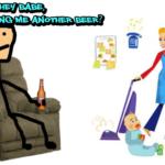 Male = Income, Woman = Kitchen