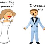 Money over marriage?