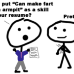 Is my blog a resume builder?