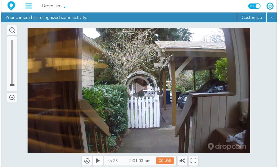 how to set up your dropcam