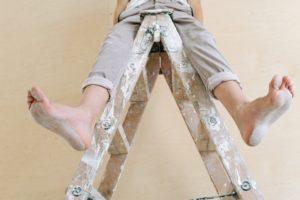 Doing home repairs